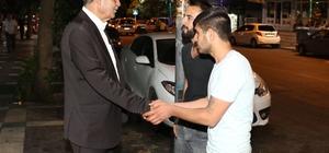 Başkan Demirkol, Cengiz Topel'de vatandaşlarla görüştü
