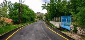 Güzelyurt'ta 7 kilometrelik asfalt çalışması yapıldı