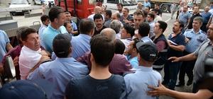 Belediye görevlileri arasındaki Atatürk takı tartışması arbedeye döndü