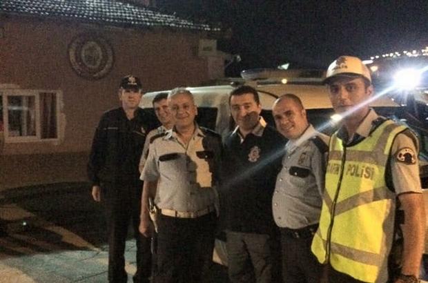 Başkan Bakıcı iftar sonrası, polis ve itfaiyecileri ziyaret etti