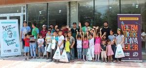 Dörtyol'da 60 Suriyeli yetim giydirildi