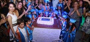 Bircan Tüfekçioğlu Bakım Evi'nin minik öğrencileri kep giydi