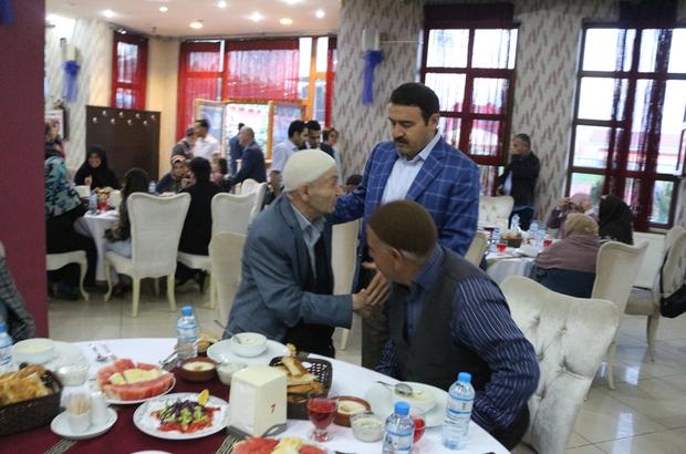 Ağrı Valisi huzur evi sakinleri ile iftar yaptı