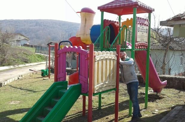 İzmit'in parklarına bakım onarım çalışması