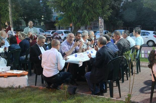 CHP Çan ilçe teşkilatından iftar yemeği