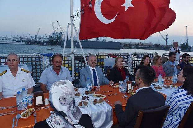 Sahil Güvenlik, kuruluşunun 35'inci yılını şehit aileleri ve gazilerle kutladı