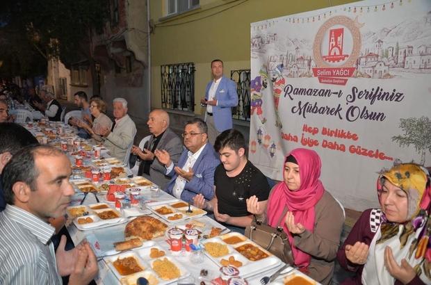 Küplü ve Başköy'de iftar sofrası kuruldu