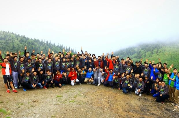 Doğu Karadeniz Gençlik Kampının 2. dönemi başladı