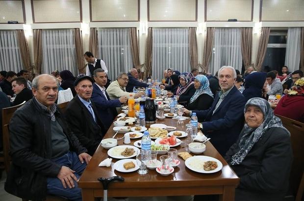 Kütahya Belediyesinden şehit aileleri ve yakınlarına iftar