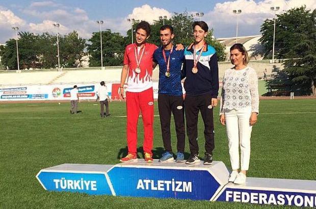 Osmangazili atletler ışık saçtı