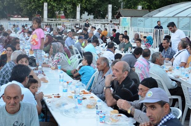 Malatya'da bin 500 kişiye iftar