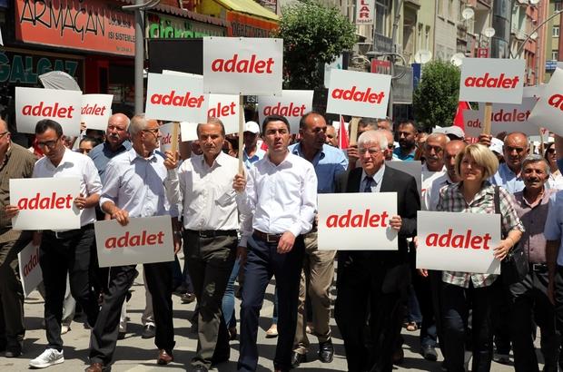 CHP Malatya'dan 'Adalet yürüyüşüne 'destek