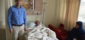 Suriyeli bebek ameliyat edildi
