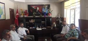 TBMM Başkanvekili Aydın'dan 'hayırlı osun' ziyaretleri