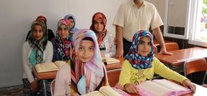 Erdemli'de yaz Kur'an kursları açıldı