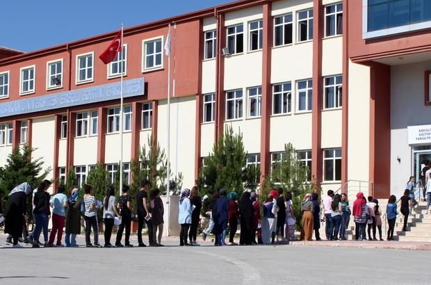 Ereğli'de LYS bu yıl ilk defa NEÜ koordinatörlüğünde gerçekleştirildi