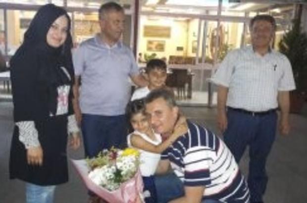 Müdür Kızılkaya şehit ailesiyle iftar yemeğinde buluştu