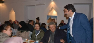Seyyid Battal Gazi Külliyesinde iftar