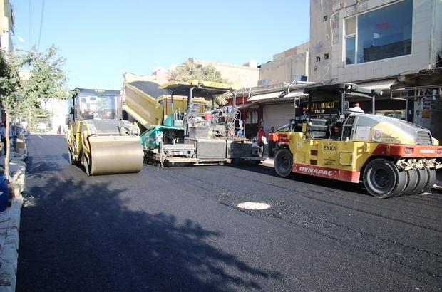 Büyükşehir Viranşehir'de çalışmalarına devam ediyor