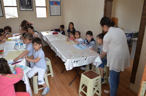 üzce Belediyesi yaz kültür kursları başladı