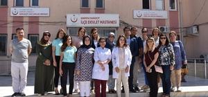 Yaman, Dargeçit'te ziyaretlerde bulundu