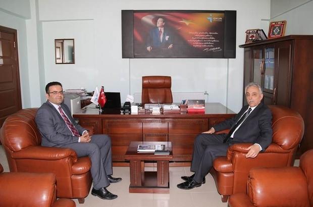 Vali Toprak'tan kamu kurumlarına ziyaret