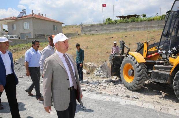"""Başkan Çolakbayrakdar: """"Kırsalın yaşam kalitesini yükseltiyoruz"""""""