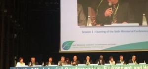 Edirne Belediyesi Dünya Sağlık Örgütü Toplantısı'nda gözlemci olarak yer aldı