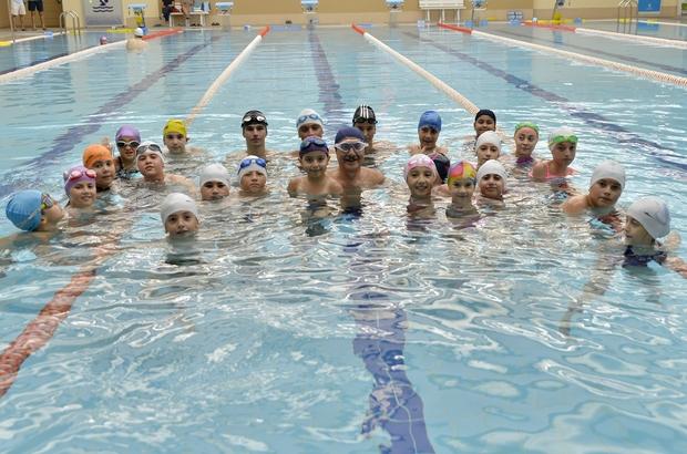 Tepebaşı'nın su sporları merkezine yoğun ilgi