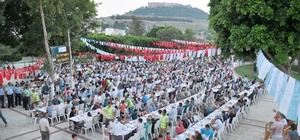 Silifke Belediyesi'nden parkta iftar