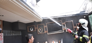 Milas'ta restoran yangını korkuttu