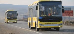 Batman'da bayramda otobüsler ücretsiz
