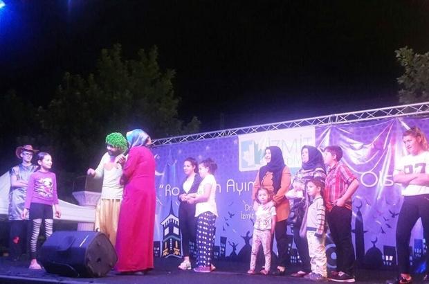 Çocuklar, ramazan etkinliklerini çok sevdi