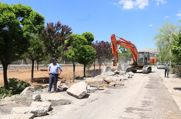 Bitlis Belediyesinden eşzamanlı çalışma