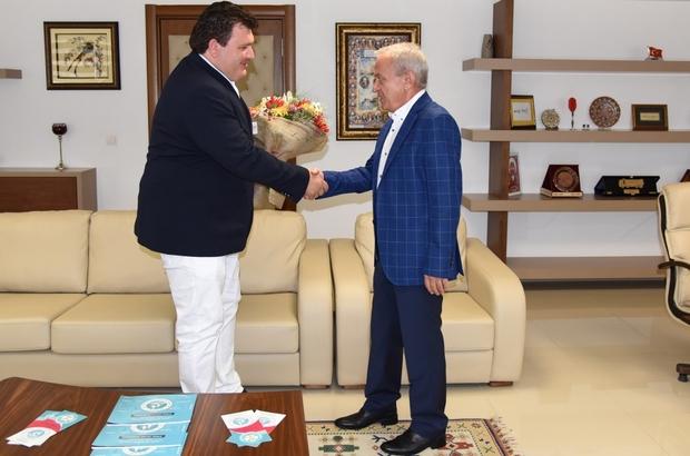 Genel Müdür Coşkun Aktan'a başarılar diledi