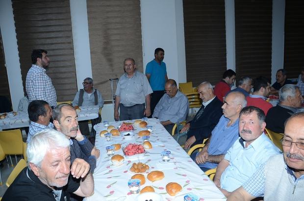 Hacı Derviş Mahallesi sakinleri iftarda bir araya geldi