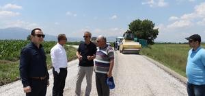Manisa Büyükşehir asfalt çalışmalarını hızlandırdı