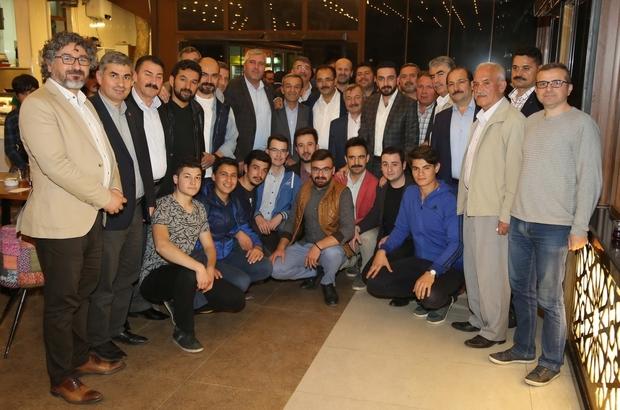 Uşak'ta AK Partili'ler sahurda buluştu