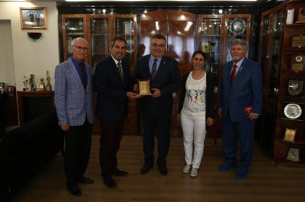 KIRKSEDER'den Başkan Kesimoğlu'na ziyaret