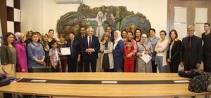 Uygulamalı Girişimcilik Eğitim sertifikaları verildi