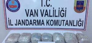 Jandarma, Başkale'de 7 kilo eroin ele geçirdi