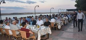 Kaymakamlık ve belediye personeli iftar sofrasında bir araya geldi