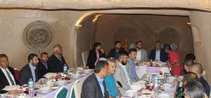 Milletvekili Gizligider Avanos'ta partililer ile iftar yaptı