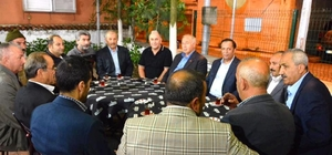 Başkan Toltar'ın teravih buluşmaları devam ediyor