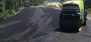 Akçakoca Belediyesi bağlantı yolunu asfaltlandı