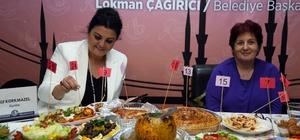 Ev hanımlarının Yemek Yarışması heyecanı