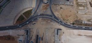 Beykent ile yeşilvadi kavşaklarında çalışmalar hızla sürüyor