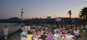 Köyceğiz'de 3 bin kişi 'Gönül' sofrasında buluştu