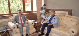 Başkan Yağcı'dan Vali Elban'a veda ziyareti