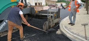 Kartepe'de asfaltlama çalışmaları devam ediyor